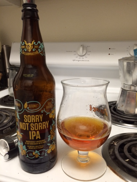 Sorry Not Sorry IPA, Stone Brewing, Bale Breaker Brewing Company and 4 Hands Brewing
