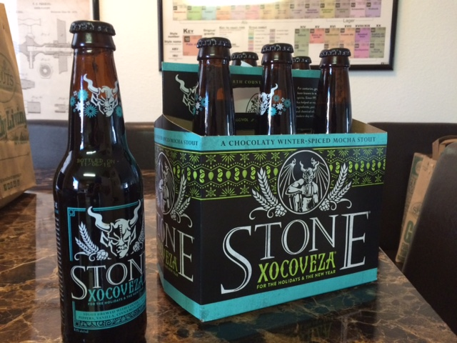 Stone Brewing Xocoveza for the Holidays & the New Year