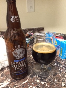 Stone Brewing Chai-Spiced Imperial Stout